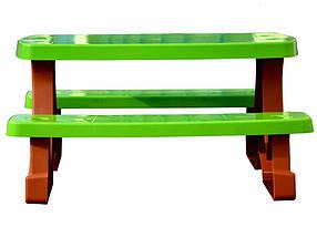Детский столик со скамейками Mochtoys, фото 3