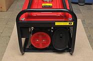 Генератор бензиновий 3-х фазний Powertech PT6500W 4.8 кв, фото 3