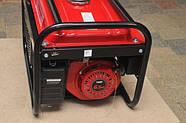 Генератор бензиновий 3-х фазний Powertech PT6500W 4.8 кв, фото 4