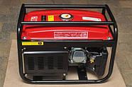 Генератор бензиновий 3-х фазний Powertech PT6500W 4.8 кв, фото 5