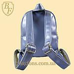 Рюкзак детский с пайетками меняющий цвет для девочек с куклой LOL., фото 2