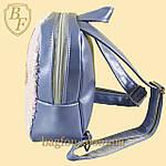 Рюкзак детский с пайетками меняющий цвет для девочек с куклой LOL., фото 4