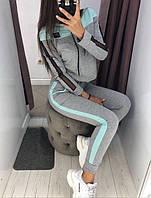 Стильный женский спортивный костюм с лампасами