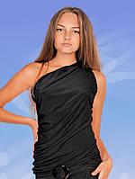 Блуза для танців. Асиметрія на одне плече.