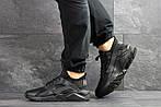 Мужские кроссовки Nike Huarache (черные) , фото 4