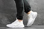Мужские кроссовки Nike Huarache (белые) , фото 3