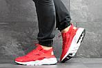 Мужские кроссовки Nike Huarache (красные) , фото 2