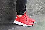 Мужские кроссовки Nike Huarache (красные) , фото 3