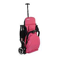 Коляска прогулочная складная розовая Коляска-чемодан JOY для путешествий, пoмeщaeтcя в отсек для ручнoй клaди
