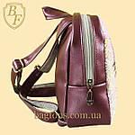 Рюкзак детский с пайетками меняющий цвет для девочек  HELLO KITTY, фото 4