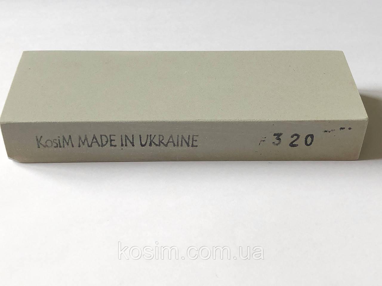 Брусок KosiM F320 1 шт 150*25*55 мм Точильные камни, для ручной заточки режущего инструмента Точилка