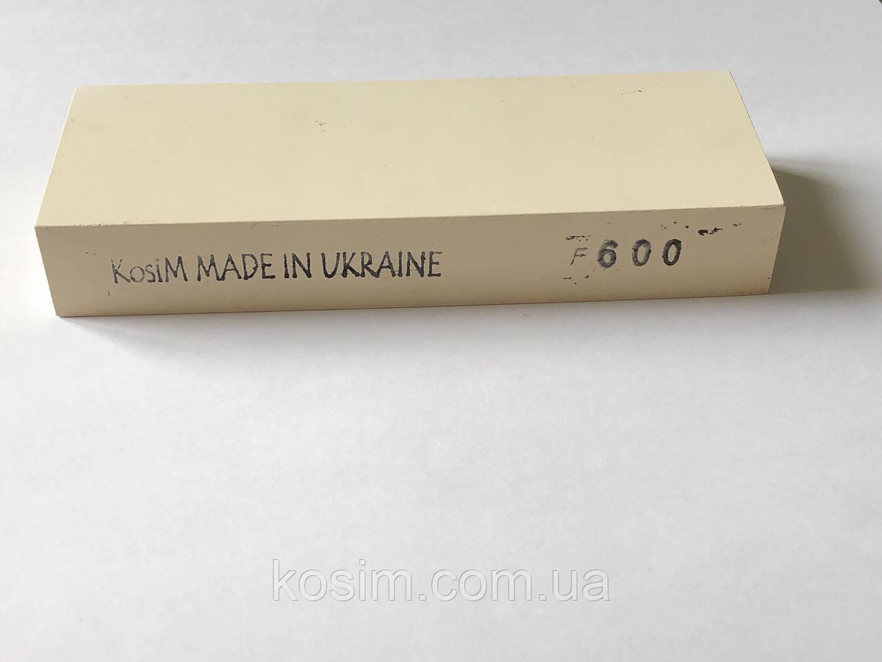 Брусок KosiM F600 1 шт 150*25*55 мм Точильные камни, для ручной заточки режущего инструмента Точилка