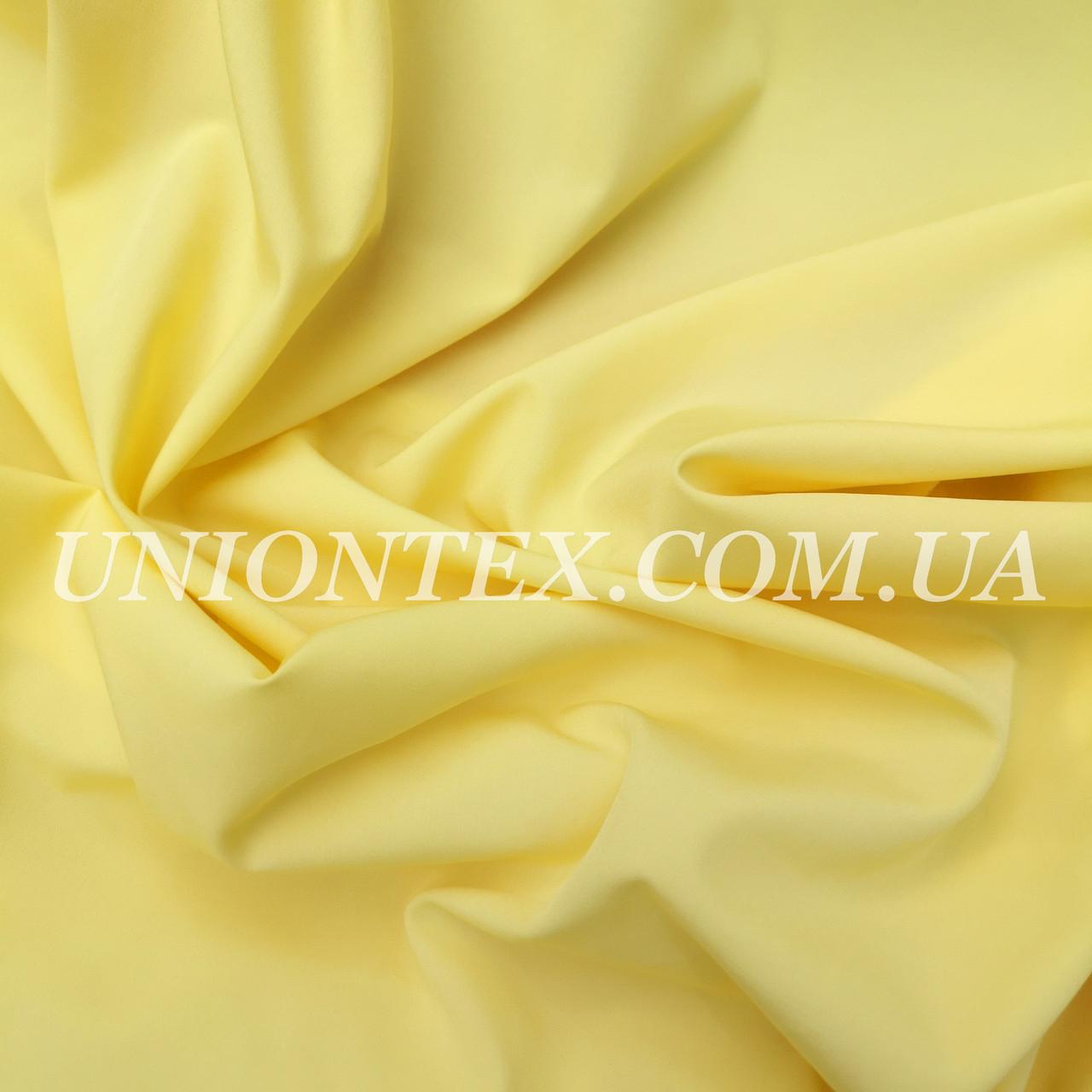 Ткань супер- софт желтый