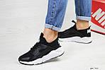 Женские кроссовки Nike Huarache (черно-белые), фото 2