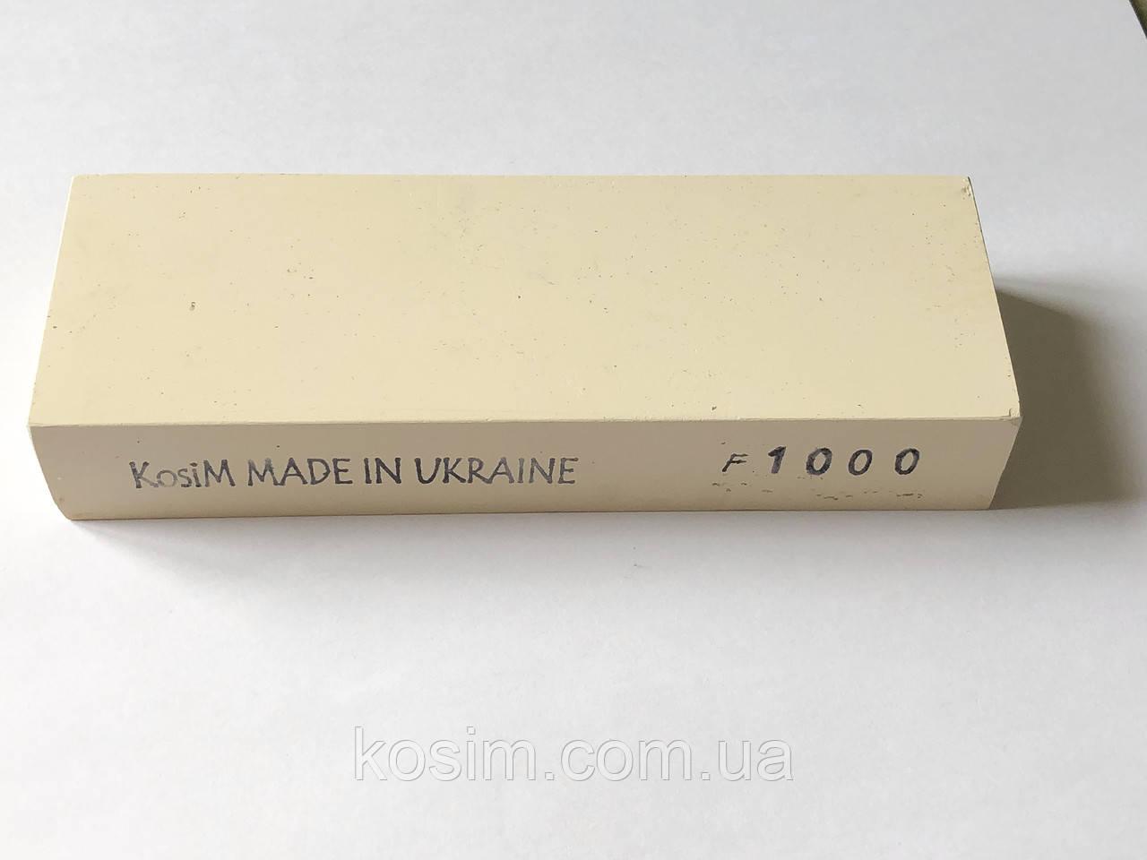 Брусок KosiM F1000 1 шт 150*25*55 мм Точильные камни, для ручной заточки режущего инструмента Точилка