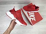 Женские кроссовки Nike Huarache (красные), фото 3