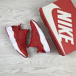 Женские кроссовки Nike Huarache (красные), фото 4