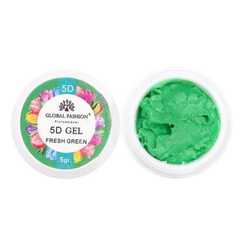 Гель паста 5D Global Fashion 5 грамм (зеленый)