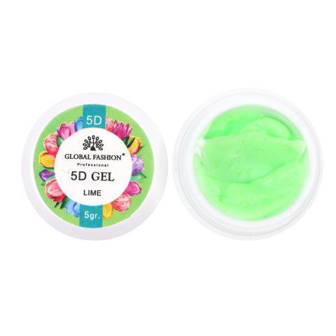 Гель паста 5D Global Fashion 5 грамм (лайм)