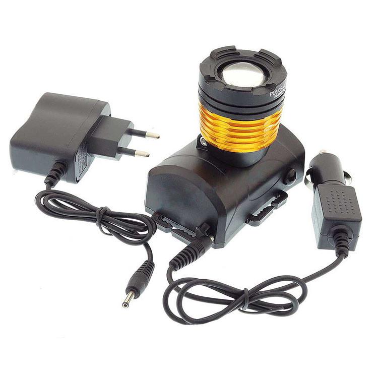 Налобный фонарь BL POLICE 6968 5000W T6 фонарик 1050 Lumen Фонарь туристический мощный фонарик на голову