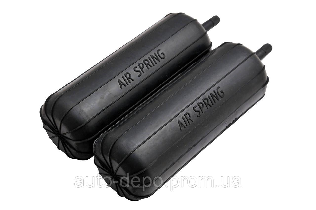 Пневмоподушка (пневмбалоны) подушка в пружину AIR SPRING 60/175 мм с боковым или торцевым нипелем