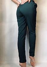 Женские летние штаны 13 зеленые норма, фото 3