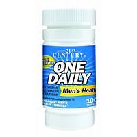 Витамины для мужчин One Daily Men's Health (100 табл.) 21st Century HealthCare
