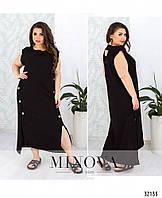 Стильное платье    (размеры 48-56)  0179-25, фото 1