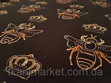 Креп шовк Королева бджіл