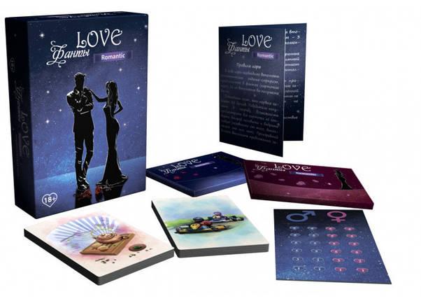 Настольная игра Love Фанты Romantic, фото 2