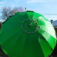 Зонт торговый садовый 3,6м 16 спиц с солнцезащитным напылением