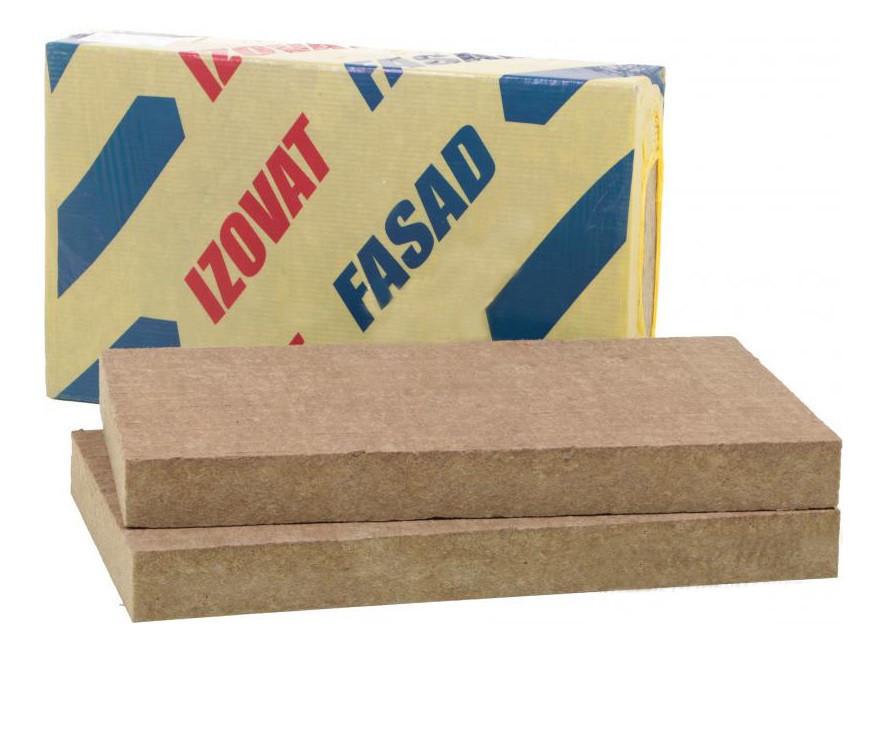 Базальтовый фасадный утеплитель Izovat FASAD 115 (100 мм)