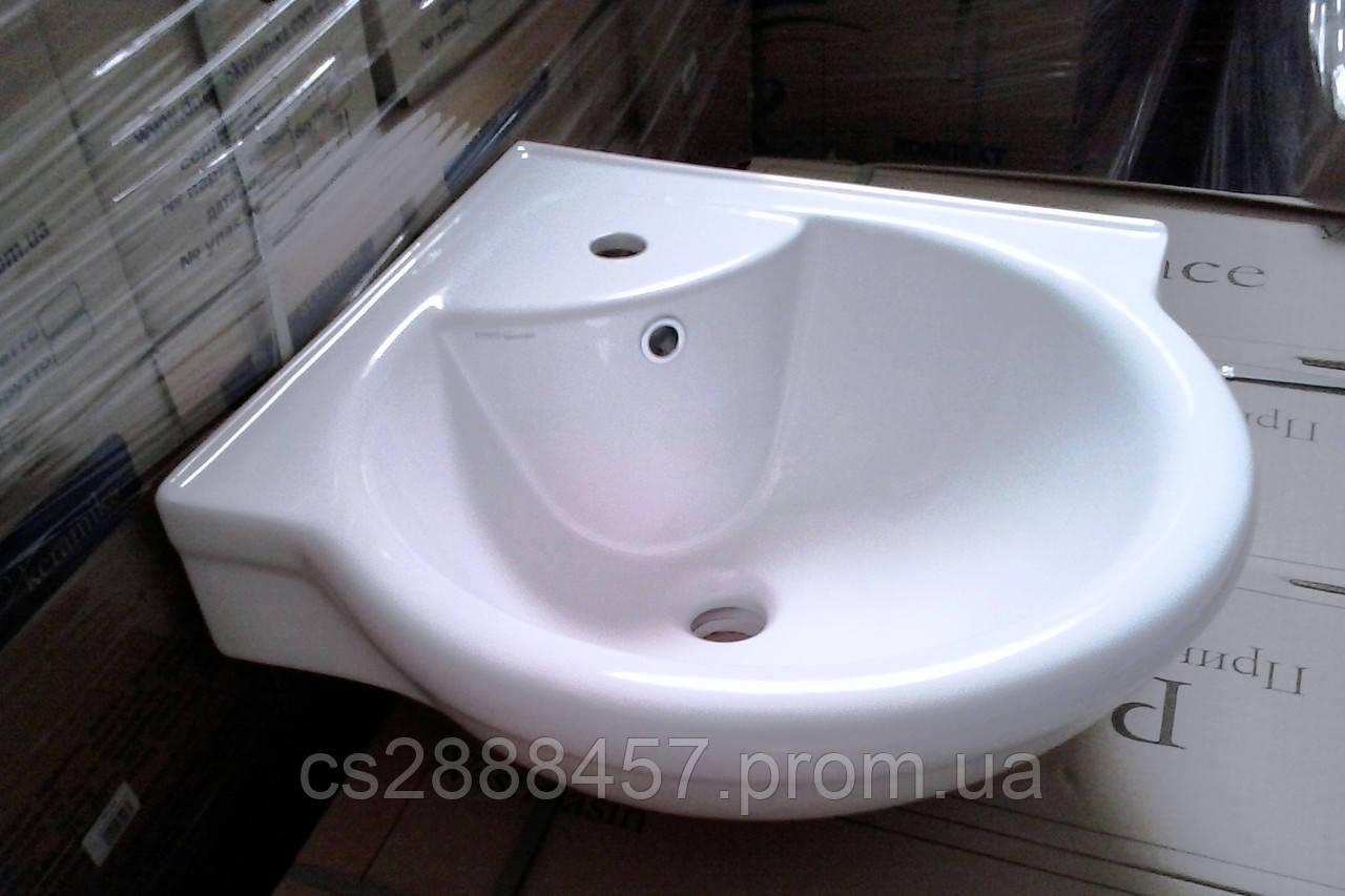 Умывальник для ванной комнаты угловой 60 Сорт 1