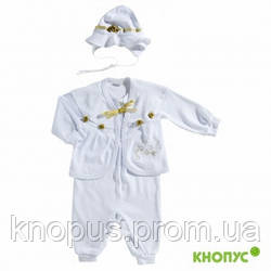 """Комплект для крещения девочки """"Сонечко"""", Little Angel, размер 62"""