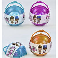 Кукла сюрприз в шарике LOL Glitter Series 2602 (кукла Лол)