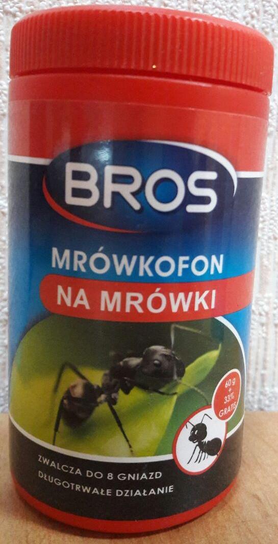 Порошок от муравьев Bros 60гр + 33%