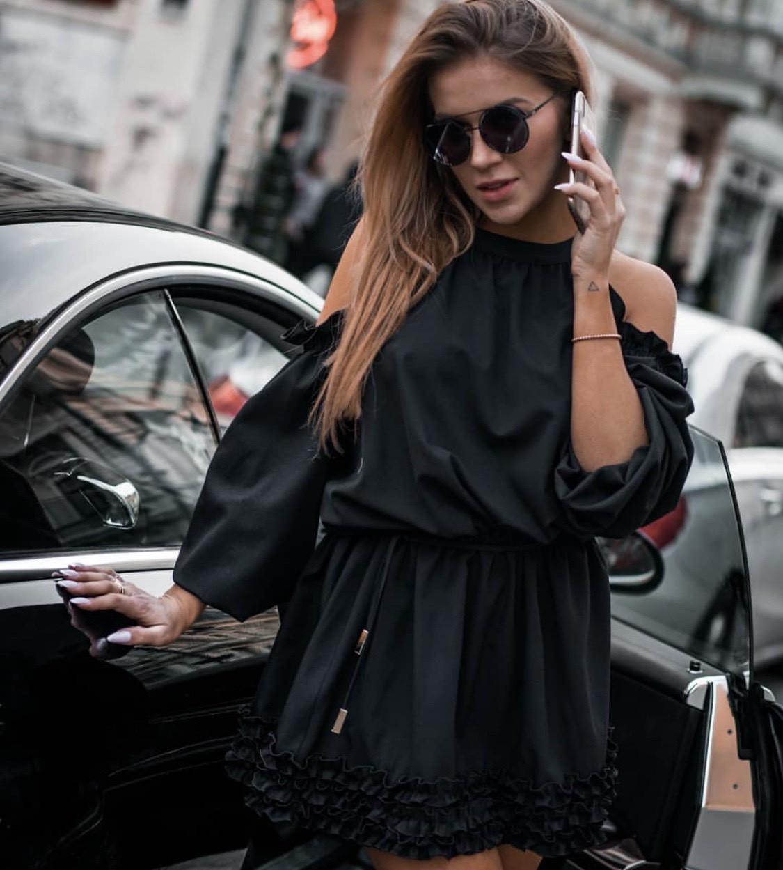Женское модное платье  АБ441