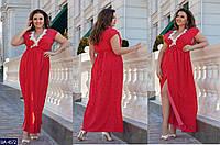 Стильное платье    (размеры 48-64)  0179-48