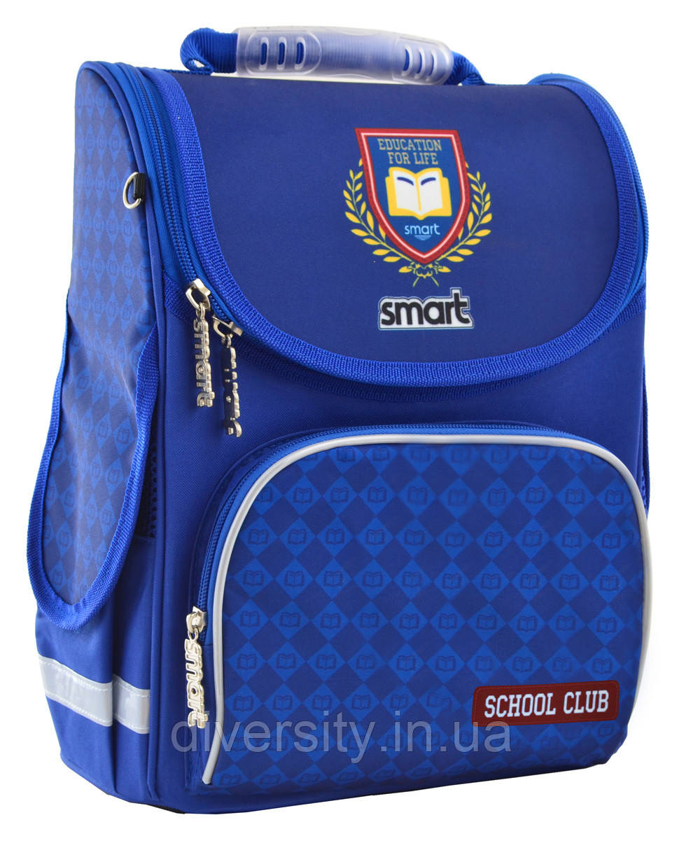 """Школьный рюкзак,каркасный PG-11 """"School Club"""" серия """"Smart 555995"""