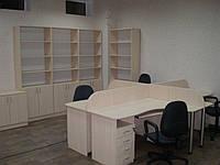 Шкаф для бумаг и стол  офисный на заказ