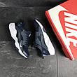 Мужские кроссовки Nike Air Huarache Fragment Design,темно синие, фото 2