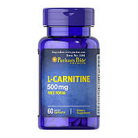 Л-Карнитин Puritan's Pride L-Carnitine 500 mg 60 caplets