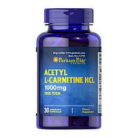 Ацетил Л-карнитин Puritan's Pride Acetyl L-Carnitine 1000 mg 30 caps