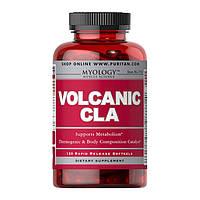 Конъюгированная линолевая кислота Puritan's Pride Volcanic Cla 120 softgels жиросжигатель