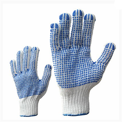 Перчатки рабочие вязанные