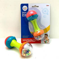 "Погремушка ""Гантелька"" Hola Toys 939-3"