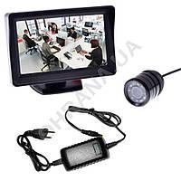 Комплект видео наблюдения (камера+монитор) , фото 1