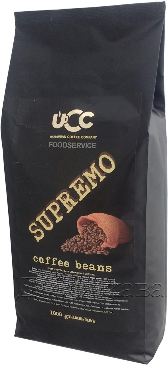 Опт 10кг кофе в зернах UCC Supremo (70% Арабика) 1 кг.