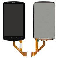 Дисплей HTC S510e Desire S G12 + сенсор чёрный