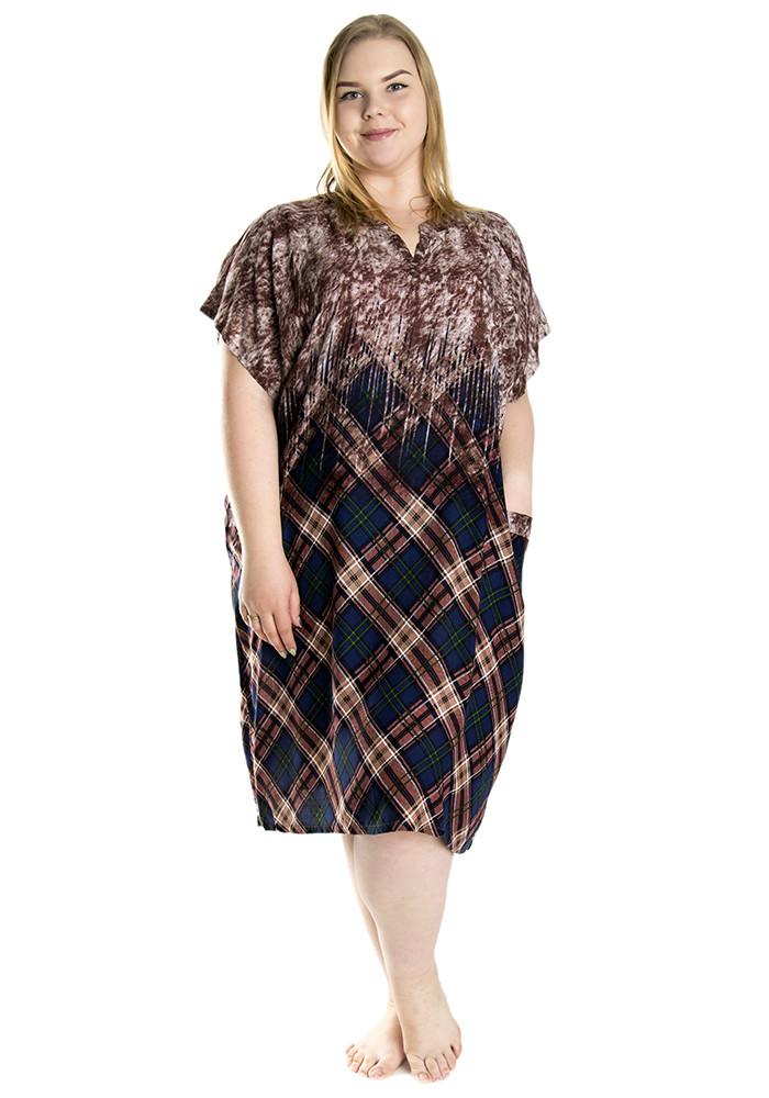 Женское платье 1289 с вырезом